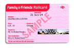 2 months free Friends & Family railcard