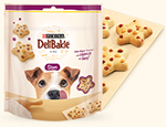 DeliBakie Stars dog treat sample