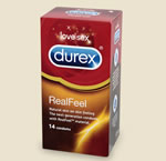 Printable £1 off Durex RealFeel condoms voucher