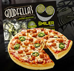 Printable £1 off voucher for Goodfella's The Smiler pizza