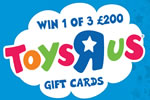 Win Toys 'R' Us Gift Card