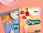 Organix cereal sachets