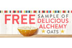 Free Delicious Alchemy Porridge Oats Sample