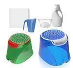 Free laundry dosing device