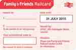 Free 2 month Family & Friends railcard