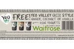 Yeo Valley Greek Style yogurt voucher