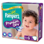 Pampers Premium nappies