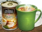 Free vented soup mug and Crosse & Blackwell soup