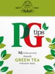PG Tips Green Tea sample