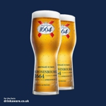 Free pint of Kronenbourg 1664