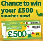 Winshopvouchers - Win £500 Morrisons Voucher - UK